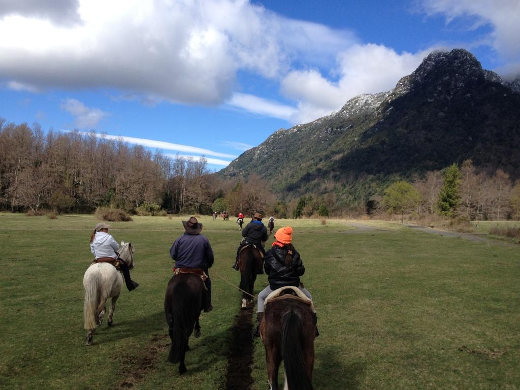 Horseback riding, Pucon, Chile