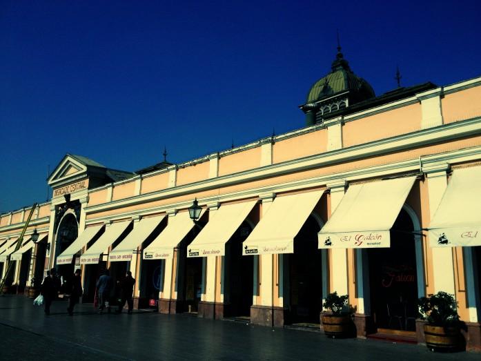 Mercado central - Santiago de Chile