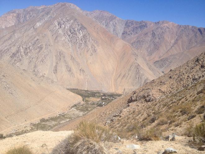 Valle del elqui, hiking